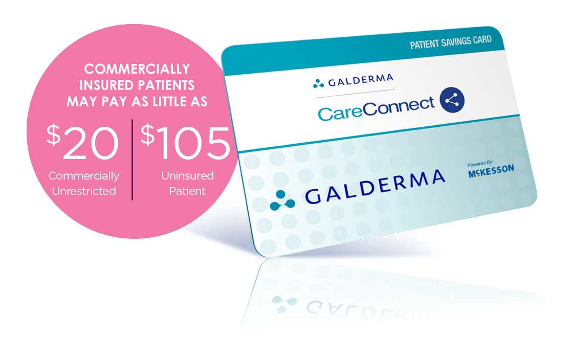 Image of Galderma Savings Card
